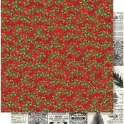 Deck the Halls Paper - Simple Vintage Christmas - Simple Stories
