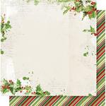 Be Merry Paper - Simple Vintage Christmas - Simple Stories