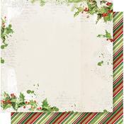 Be Merry Paper - Simple Vintage Christmas - Simple Stories