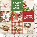 4x4 Elements Paper - Simple Vintage Christmas - Simple Stories