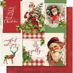 4x6 Vertical Elements Paper - Simple Vintage Christmas - Simple Stories - PRE ORDER