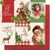 4x6 Vertical Elements Paper - Simple Vintage Christmas - Simple Stories