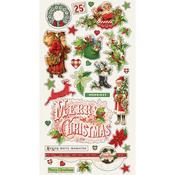Chipboard Stickers - Simple Vintage Christmas - Simple Stories