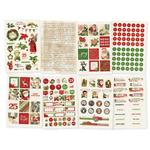 4x6 Stickers Sheet - Simple Vintage Christmas - Simple Stories - PRE ORDER