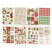 4x6 Stickers Sheet - Simple Vintage Christmas - Simple Stories