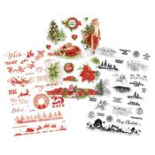 Clear Stickers - Simple Vintage Christmas - Simple Stories
