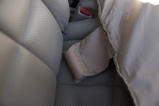 "Gray - Petego Rear Car Seat Protector 51""X43"""