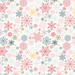 Flurries Paper - Freezin Season - Simple Stories