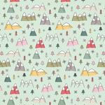 Snowed In Paper - Freezin Season - Simple Stories