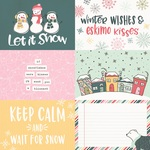 4x6 Horizontal Element Paper - Freezin Season - Simple Stories