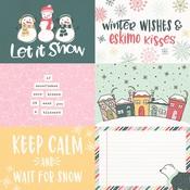 4x6 Horizontal Element Paper - Freezin Season - Simple Stories