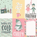 4x6 Vertical Element Paper - Freezin Season - Simple Stories