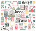 Freezin Season Bits & Pieces - Simple Stories