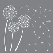 """Dandelion - Americana Mixed Media Stencil 12""""X12"""""""