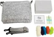 Rain Cloud Crossbody Bag - Pretty Twisted Needle Felting DIY Kit