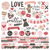 Combo Sticker - Kissing Booth - Simple Stories