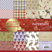 "Merry & Bright, Single-Sided Designs - Find It Trading Precious Marieke Paper Pack 12""X12"" 23/Pkg"