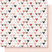 Love Day Paper - Kissing Booth - Simple Stories