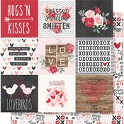 4x4 Elements Paper - Kissing Booth - Simple Stories