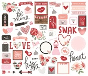 Bits & Pieces Die-Cuts - Kissing Booth - Simple Stories