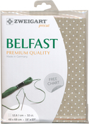 "Petit Point - Zweigart Belfast Premium Quality Linen 32 Count 19""x27"""