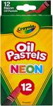 12/Pkg - Crayola Oil Pastels