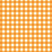Orange Plaids & Dotty Double-Sided Cardstock - Bella Blvd
