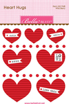 Wild Berry Mini Heart Hugs - Bella Blvd