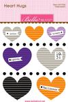 Halloween Mini Heart Hugs - Bella Blvd