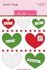 Christmas Mini Heart Hugs - Bella Blvd