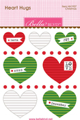 Christmas Mini Heart Hugs - Bella Blvd