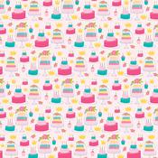 Cake & Crowns Paper - Wish Big Birthday Girl - Bella Blvd - PRE ORDER