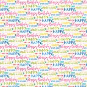 Let's Celebrate Paper  - Wish Big Birthday Girl - Bella Blvd - PRE ORDER