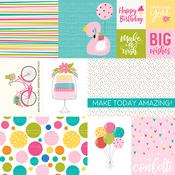 Daily Details Paper - Wish Big Birthday Girl - Bella Blvd - PRE ORDER