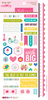 "Sticky Mix - Wish Big Girl Cardstock Stickers 6""X12.5"""