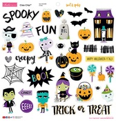 """Icons - Sweet & Spooky Chipboard Stickers 12""""X12"""""""