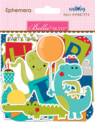 Ephemera, Shapes, Tabs & Words - Wish Big Boy Cardstock Die-Cuts