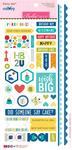 """Sticky Mix - Wish Big Boy Cardstock Stickers 6""""X12.5"""""""