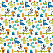 "Dinotastic - Wish Big Boy Double-Sided Cardstock 12""X12"""