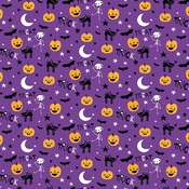 """Midnight Jive - Sweet & Spooky Double-Sided Cardstock 12""""X12"""""""