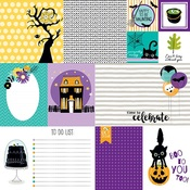 """Daily Details - Sweet & Spooky Double-Sided Cardstock 12""""X12"""""""