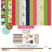 "Merry Christmas - Bella Blvd Collection Kit 12""X12"""