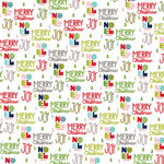 "Sing It Loud - Merry Christmas Double-Sided Cardstock 12""X12"""