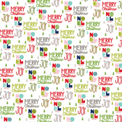 """Sing It Loud - Merry Christmas Double-Sided Cardstock 12""""X12"""""""