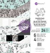 Flirty Fleur 12 x 12 Paper Pad - Prima
