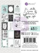 Flirty Fleur 3 X 4 Journaling Cards - Prima
