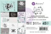 Flirty Fleur 4 X 6 Journaling Cards - Prima