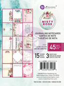 Misty Rose 3x4 Journaling Cards - Prima