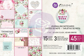 Misty Rose 4x6 Journaling Cards - Prima
