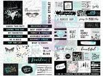 Flirty Fleur Quote + Word Stickers - Prima